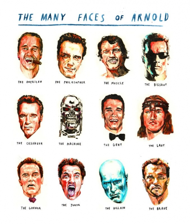 The many faces of Arnold